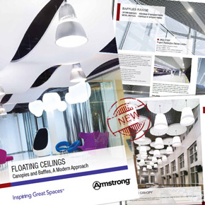 Floating ceilings brochure from Armstrong