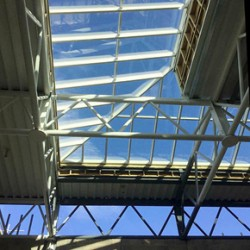 Monopitch Rooflights at new training facility