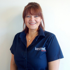 Tanya Hopkinson, customer services manager at Kestrel Building Products