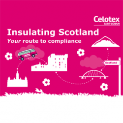 The insulation specialist will spreading the word of products and services that can assist compliance to new Scottish Building Regulations.