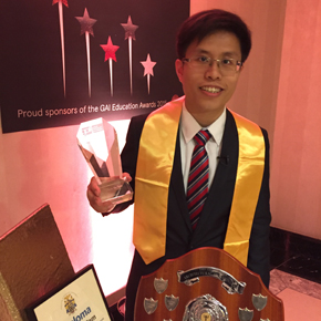 Isaac Tam GAI Education Awards, November 2015
