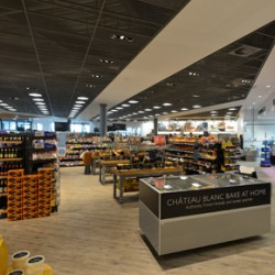 Armstrong's ceiling solutions at the new Booths supermarket