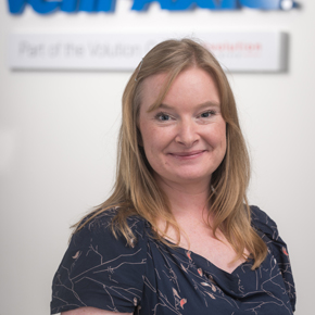 Vent-Axia marketing manager Jenny Smith