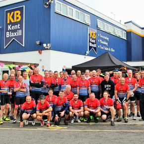 KB 120 bike riders