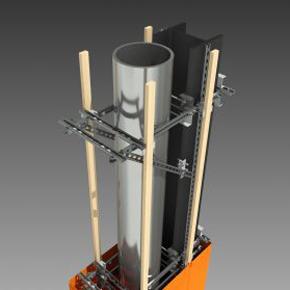 Internal column structure