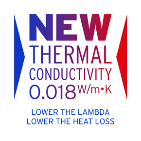 Low lambda insulation products