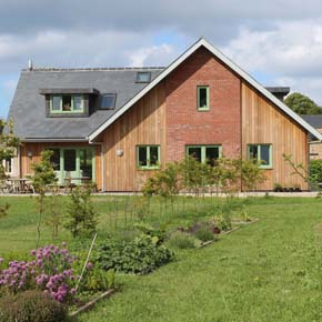 Jersey bungalow which has achieved Passivhaus EnerPHit standard