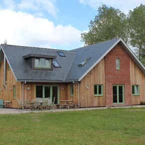 bungalow set for Passivhaus EnerPHit standard with Kingspan TEK