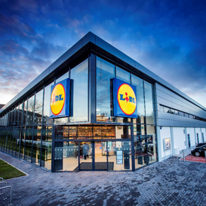 Lidl Northern Ireland concept store
