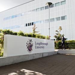 Loughborough University Entrance Signs.