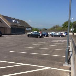 M&S Foodhall car park image 2