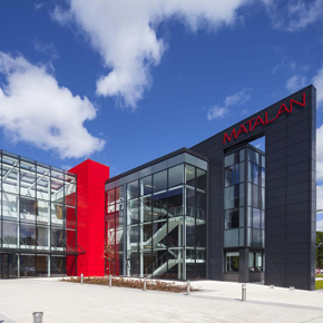 The external façade of Matalan's headquarters