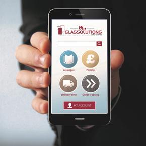 Myglassolutions app launch