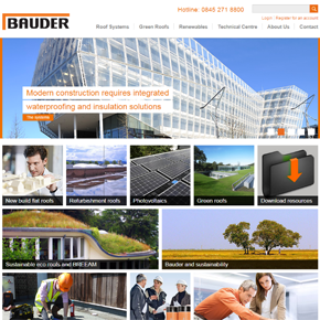 New Bauder Website