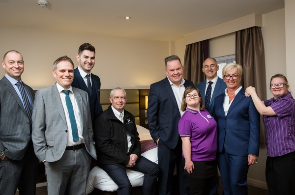 Novus Premier Inn training centre for Derwen College_