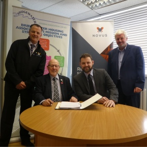 Novus Property Solutions signs contract with Bridgewater Housing Association