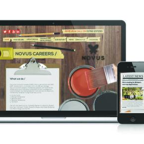 Novus recruitment site
