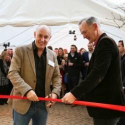 Andrew Scott, Purplex Managing Director & John Penrose, MP