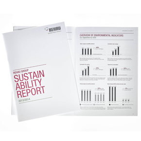 REHAU has just published its second sustainability report