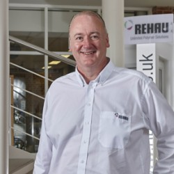 Malcolm Taylor, Product Manager, REHAU