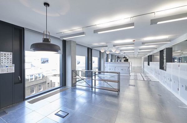 Rehau Completes Landmark Chilled Ceiling Installation At
