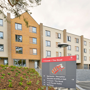 The new St Marys Village at Bangor University