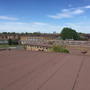 Perry Hall Academy benefits from IKO's long-lasting bituminous built-up roofing system