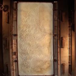 Glass test furnace