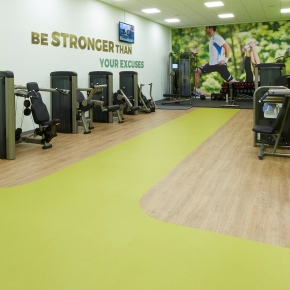 Polyflor - Shrewsbury Sports Village