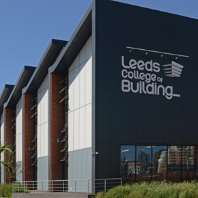 Leeds College Campus Specifies Diffused Daylight Cladding