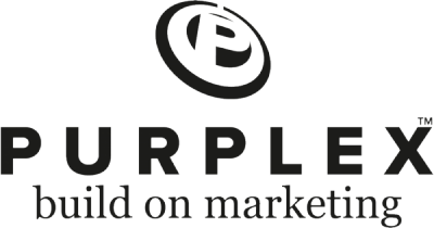 Purplex Build on Marketing logo