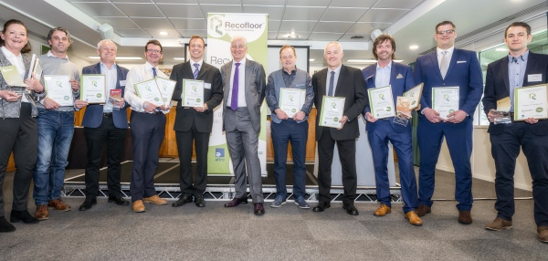 Recofloor 2017 Awards winners