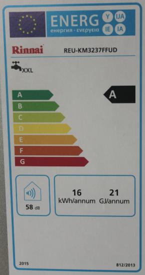 Rinnai Energy Rating