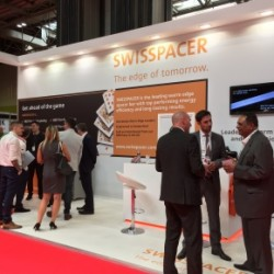 SWISSPACERs busy stand at FIT Show 2017