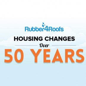 Housing changes over 50 years