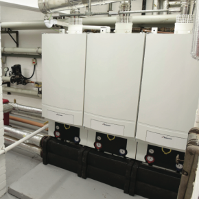 """A wall-hung condensing boiler offers accessibility, speed and flexibility of installation"" Pete Mills, Bosch Commercial and Industrial"