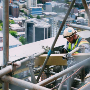 construction site safety height work