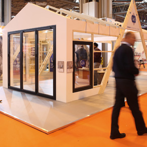 PURe doors showcased at the Build Show