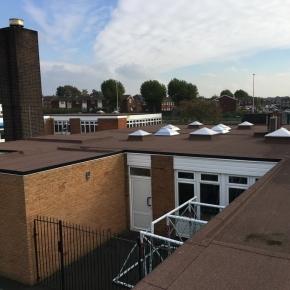 St Basils Catholic Primary School roof - iko article