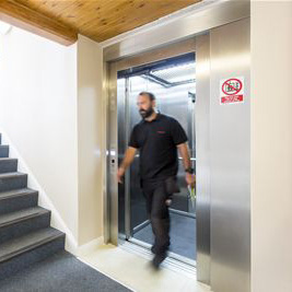 Stannah's tailored lifts for Bethesda Court