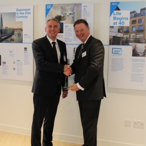 Stephen Forbes of Nicholls and Clarke receives Founder Members Award