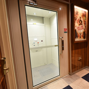 Midilift SL platform lift at The Breakfast Club in London