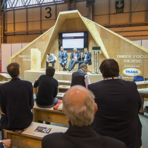 Timber expo at UKCW 1
