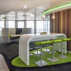 Forbo's carpet solutions showcased at Qlik's Tower 42 office