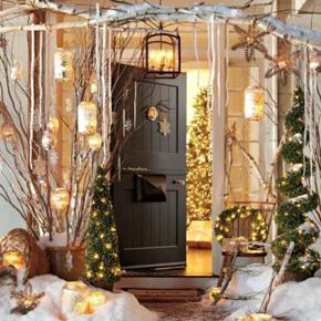 Truedor Christmas door