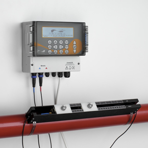Micronics clamp-on flow meter