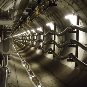 Ellis' first Centaur cable saddles installed in UKPN's London Power Tunnels