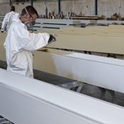 Application of Sika Unitherm Platinum