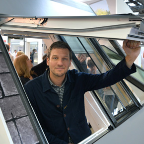 Charlie Luxton at the Homebuilding & Renovating Show