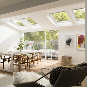 VELUX White-Painted Window
